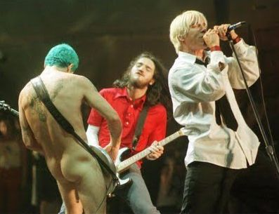 Chilli Peppers - Flea Naked