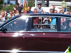 The Royals Tour Weymouth