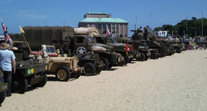 War Vehicles on Display