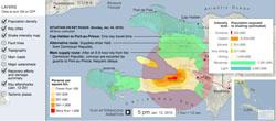 Earthquake Zone Map