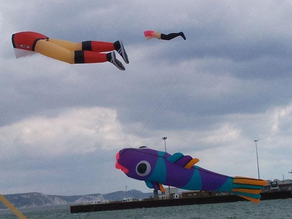 Fish & Legs kites