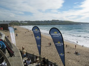 View from the Bar - Fistral Beach