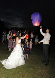 Wedding Fire Lanterns