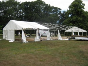 Setting Up the Marquee